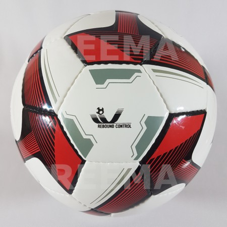 Futsal Professional |  white and red color a picture of a football which is available in reematec stock