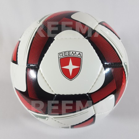 Futsal Professional | High quality shiny PU White dark red futsal ball