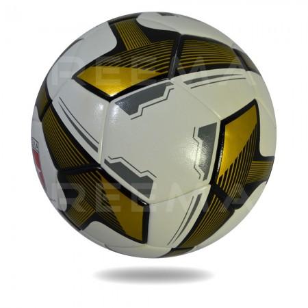 Futsal Samba 2020 | white cover football printed with darkgoldenrod triangle