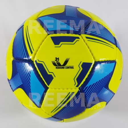 Futsal Spark |  green and dark blue football which is available in reematec stock
