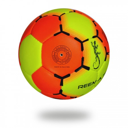 Game | hand Stitched size 3  Orange-Red and Green-Yellow Hand ball