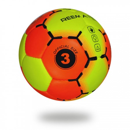Game | Best selling high quality 32 panel Orange-Red and Green-Yellow Hand ball