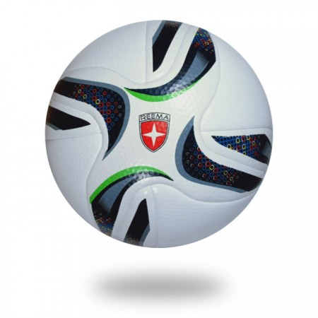 Grand Stade | all club use this ball for top comp white cover with black and green design