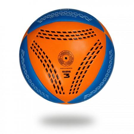 Grip Groves | white background handball original pics orange and blue