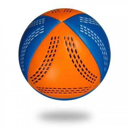Grip Groves | white background original pics orange and blue handball