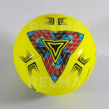 Junior 290 | Best Soccer ball size 5 Yellow printed with different color
