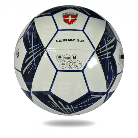 Leisure 2020 |  white cover football design with pentagon with Black