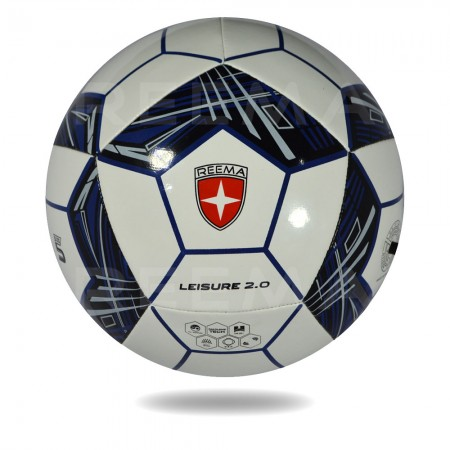 Leisure 2020 |  | soccer ball white cover design with pentagon with Black