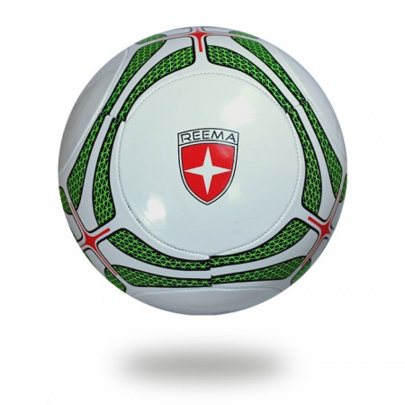 Leisure | white cover of football printed with green nice design