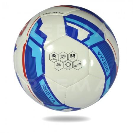 Long Life 2020   Training soccer ball for men and women blue white