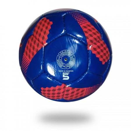 Long Life | Training soccer ball for men and women blue red