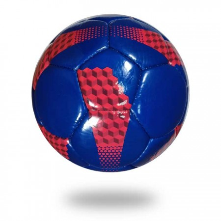 Long life | blue red PU soccer ball for clubs