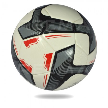 Magnum 2020 | Black triangle made on white PU Material soccer ball