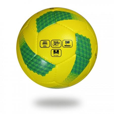 Maxime plus | yellow green hand sewn PU material soccerball