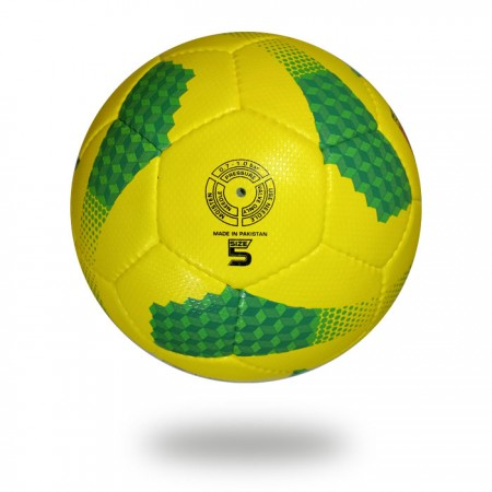 Maxime plus | green and yellow made for 13 to older use size 5 football