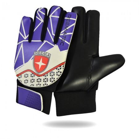 Neophyte | gloves kids white purple leather goalkeeper gloves