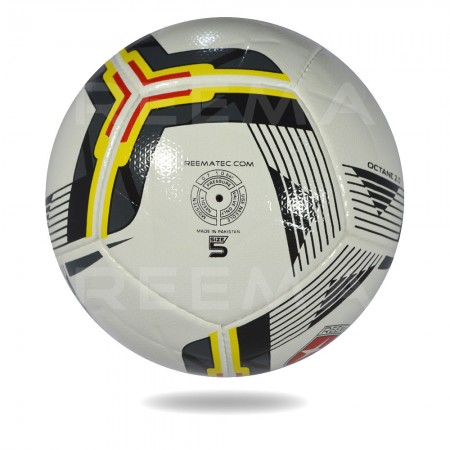 Octane 2020 | white black Match ball top  best manufacture reematec