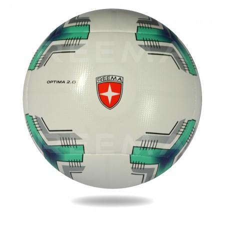 Optima 2020 | dark cyan nice printed soccer ball size 5 reematec Pakistan manufacturer