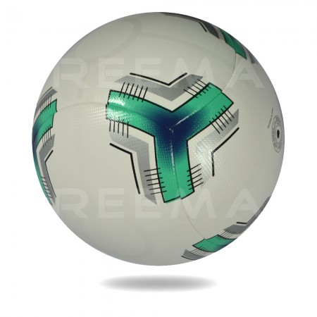 Optima 2020 | round shape football with with and dark cyan