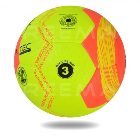 Phantom 2020 HYB | handball orange Cover printed with yellow circle design