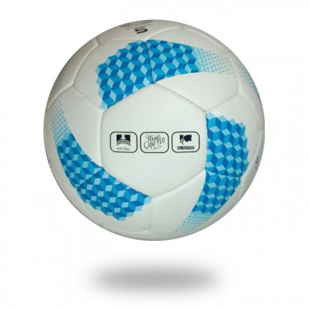 Platinum | fabric white blue 32 panels soccer ball