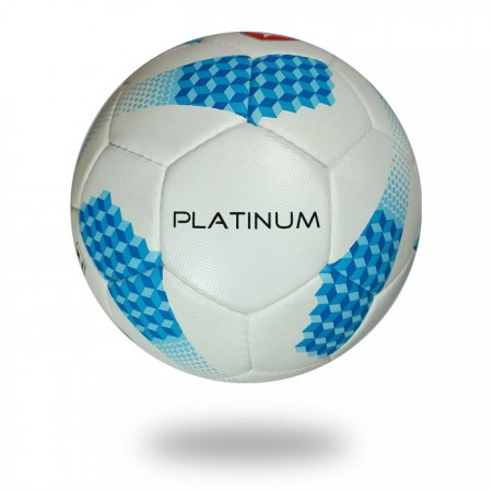 Platinum | fabric and rubber 32 panels white and blue  foot ball