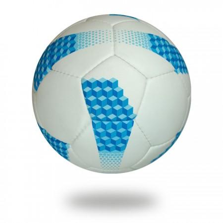 Platinum | 100% Polyester white blue foot ball