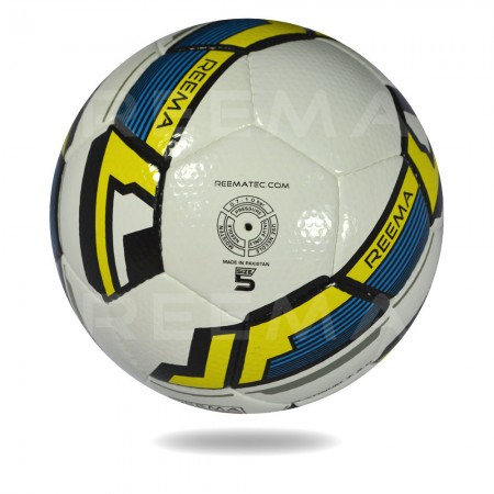 Platinum plus 2020 | yellow and white soccer ball with 100 % polyester