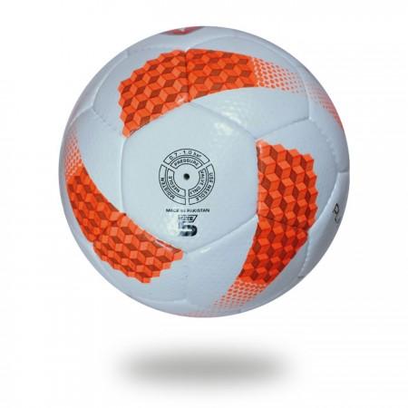 Platinum plus|32 panels orange white hand stitched soccerball
