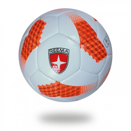 Platinum plus | white orange top comp handsewn football
