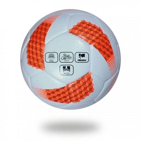 Platinum plus | FIFA men world cup best football white orange