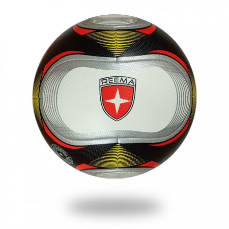 Santiago | football upper casing is white and printed with silver draw red