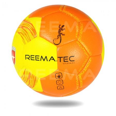 Solera 2020 | Orange yellow indoor handball machine stitched