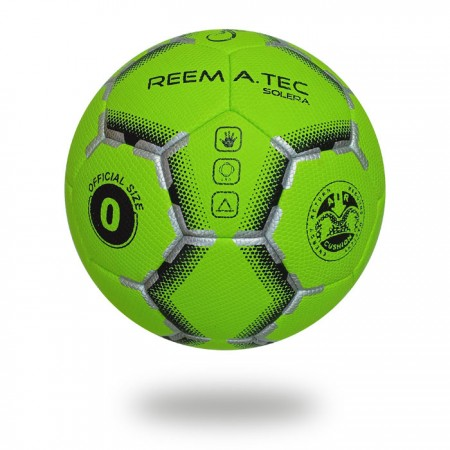 Solera | Best color matching silver Lawn green black handball