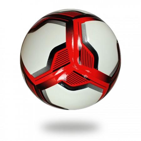 Spiro Elite | draw neat red black lines on white PU soccer ball