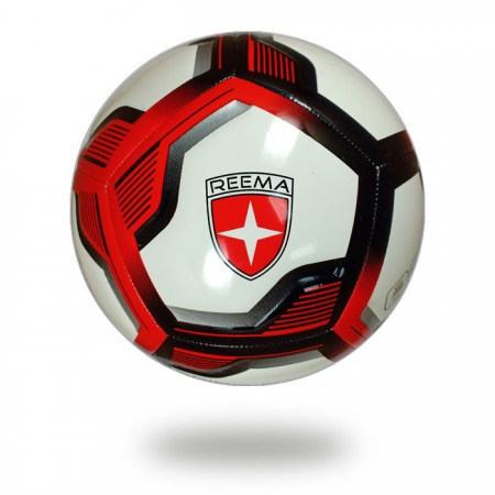 Spiro Elite | draw neat red black lines on white PU football