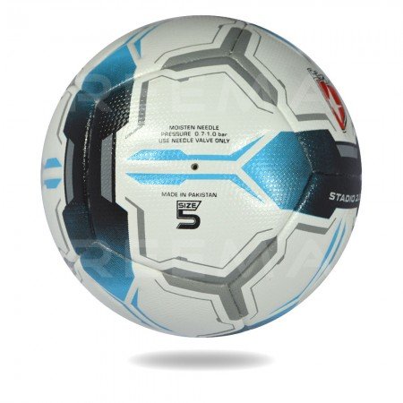 Stadio 2020 | white and blue top competition nice design soccer ball for youth