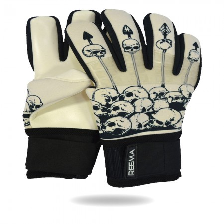Striker Grip | soft grip skin and black goalkeeper gloves for academics