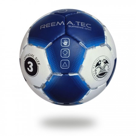 Supreme Grip Evolution | Two Color Hand ball white and Navy size 3