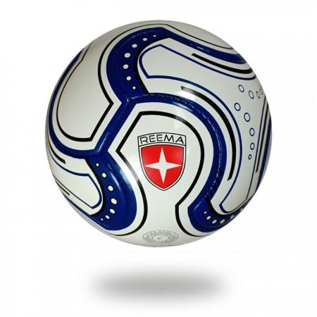 Swift   FIFA Quality navy blue white match ball 8 panels football
