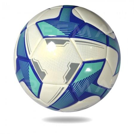 Torino 2020 | white and dark cyan 32 panels soccer ball