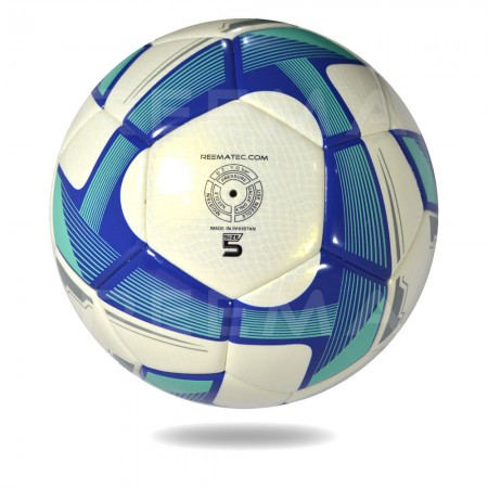Torino 2020 | white dark cyan football for men play with ball in day and night