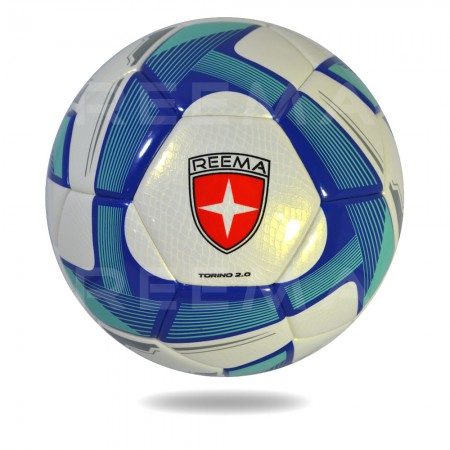 Torino 2020 | white and dark cyan color soccer ball