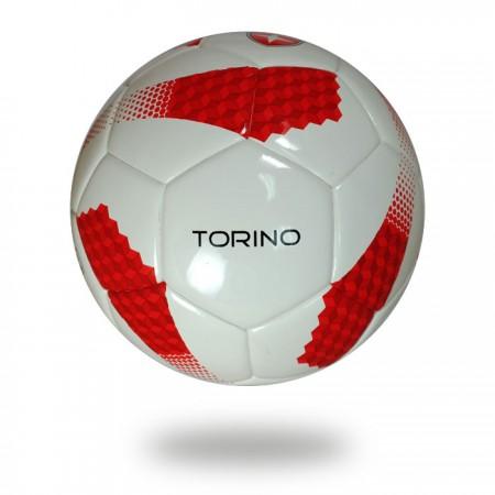 Torino | official size 5 training white red soccer ball
