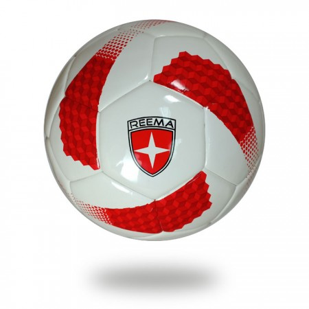 Torino | Thermo Bonded White and red soccer ball
