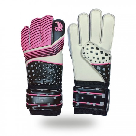 Training Grip | best match gloves for keepers  size 9 Pink and Black
