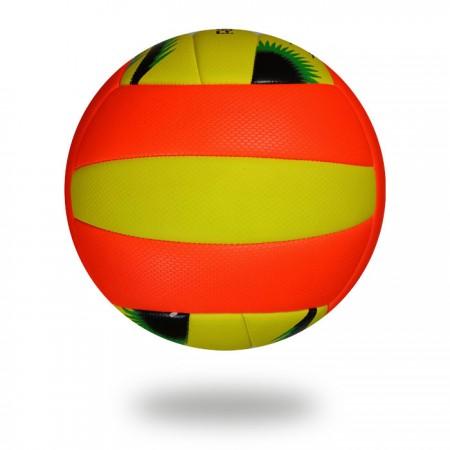 VB 500 | Machine stitched size 5 Orange and Yellow volleyball