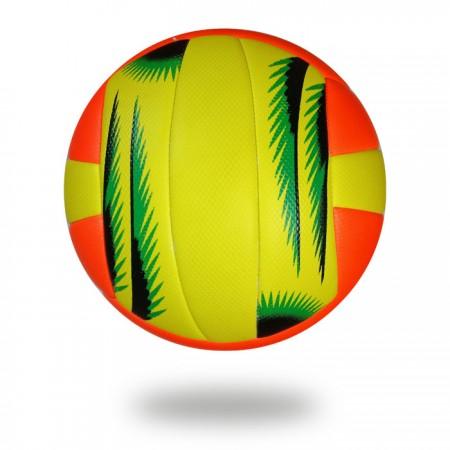 VB 500 | Soft hand PU orange and yellow volleyball