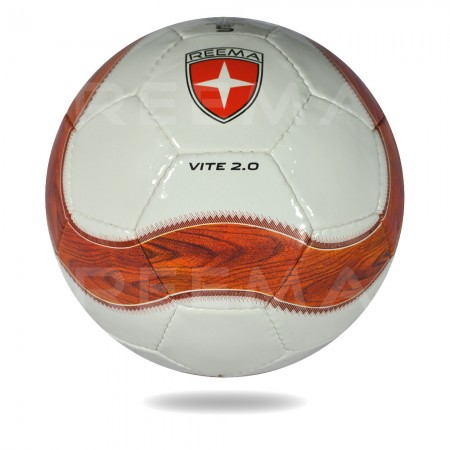 Vite-2020 | women world cup used white cover chocolate and coral printing soccer ball