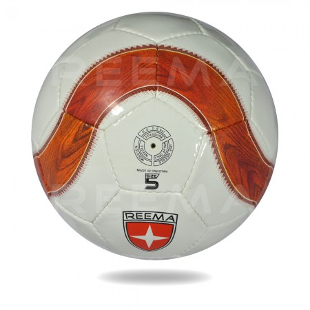 Vite-2020 |football in white cover chocolate and coral printing official size 5